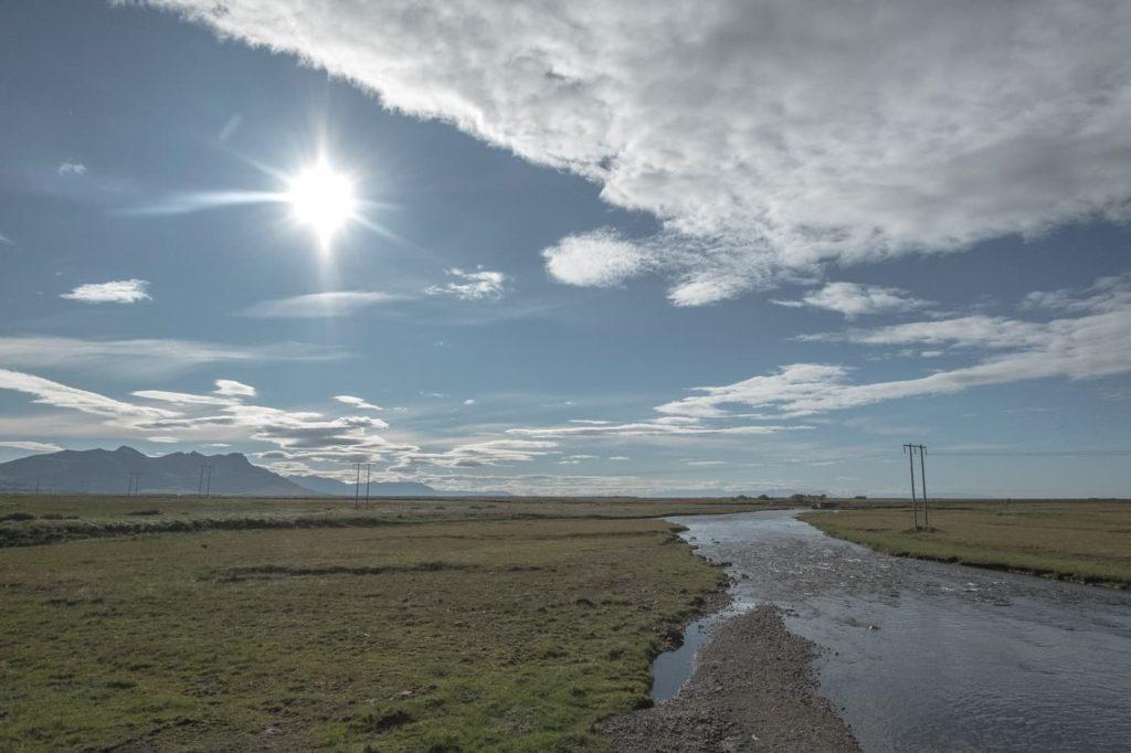 Snaefellsnes Wasserverlauf