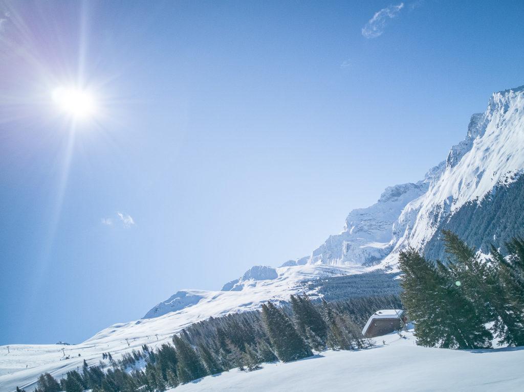 Sonne Jakobshorn in Davos