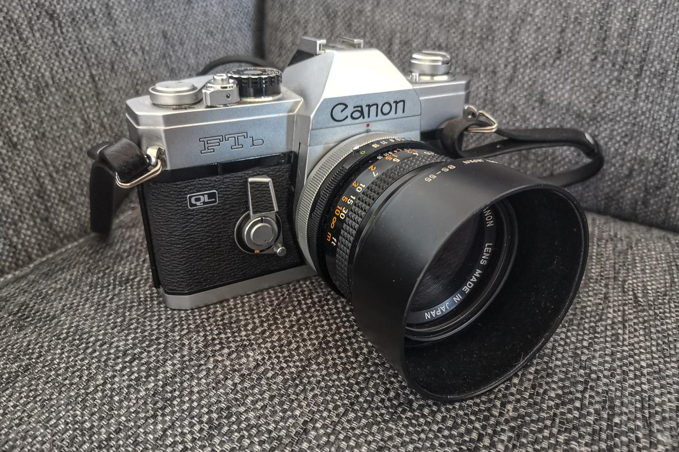 analoge Spiegelreflexkamera Canon FTb