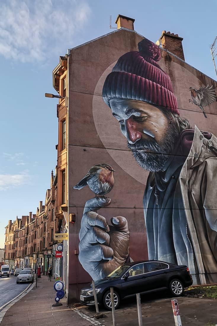 st mugo streetart glasgow
