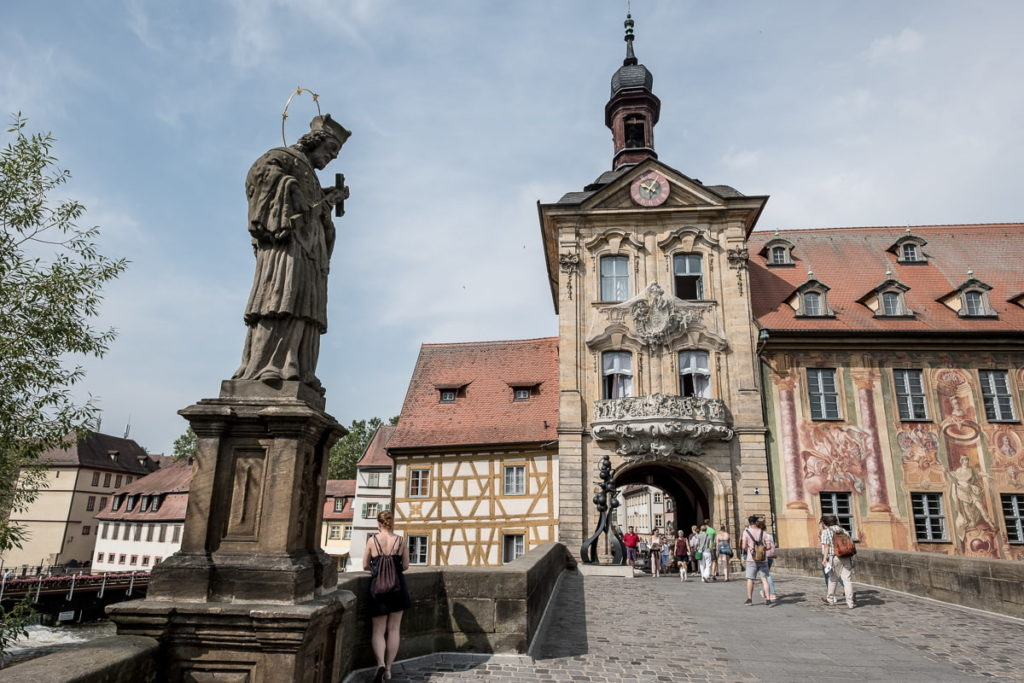 statue bamberg rathaus