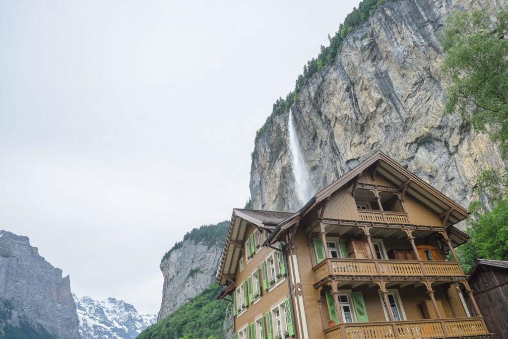 Lauterbrunnen Staubbachfall