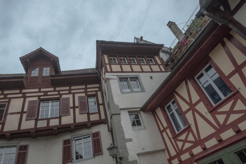 Schöne Häuserfassaden