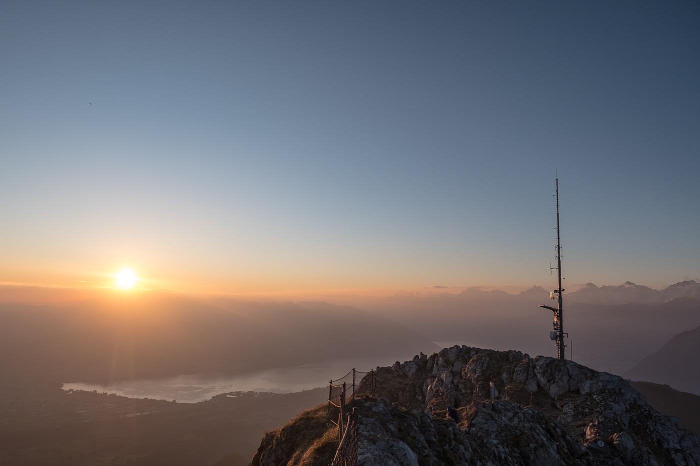 stockhorn morgenstimmung