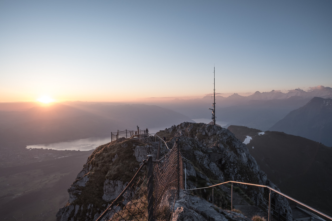 stockhorn sonnenaufgang