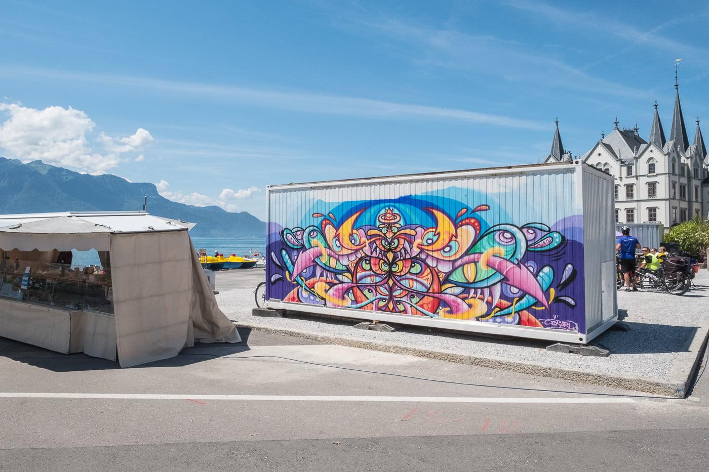 Streetart in Vevey