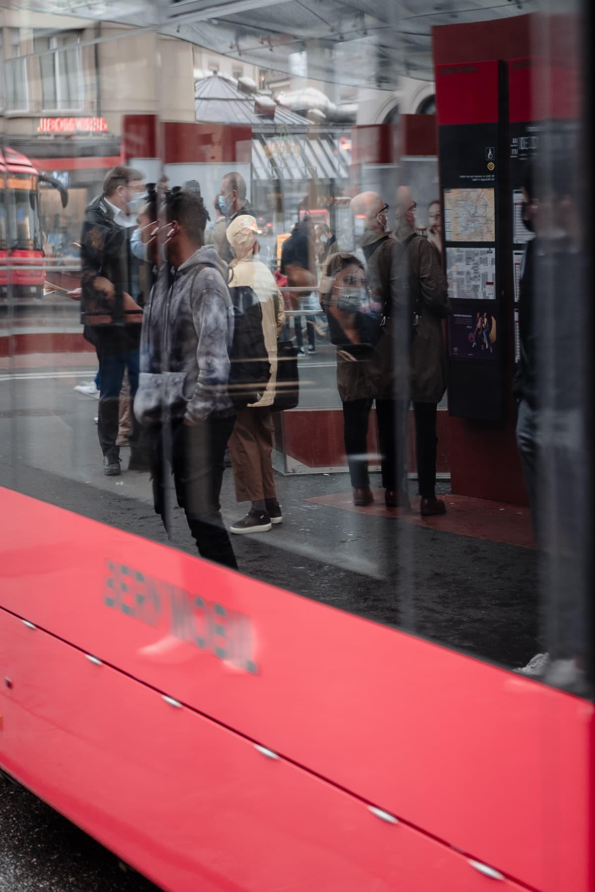 Streetfoto Bernmobil Haltestelle