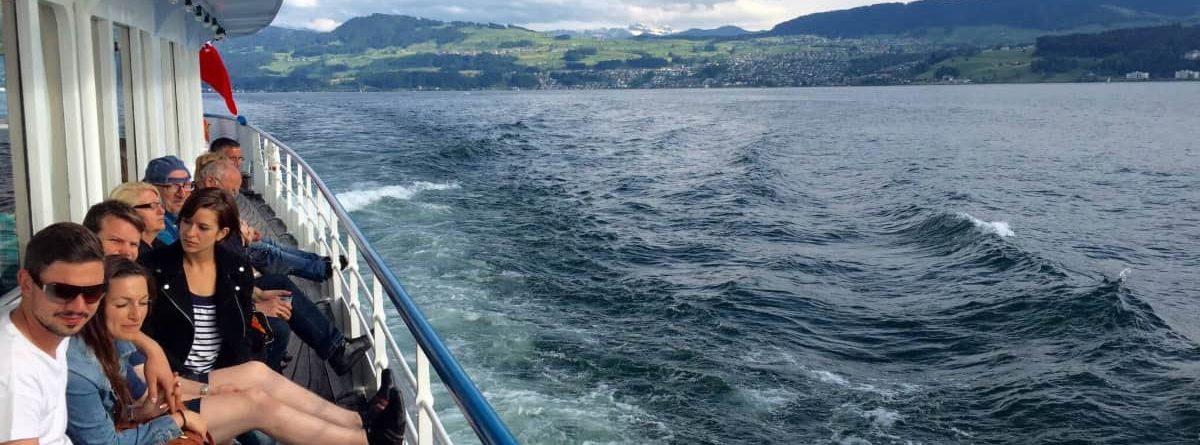 Tageskreuzfahrt auf dem Zürichsee