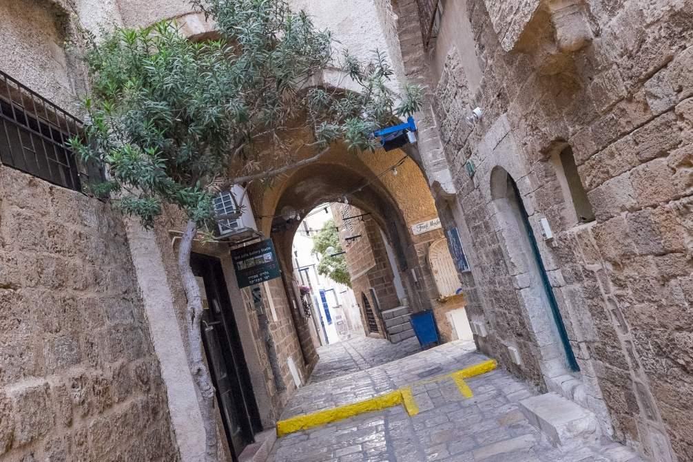 Gassen von Jaffa