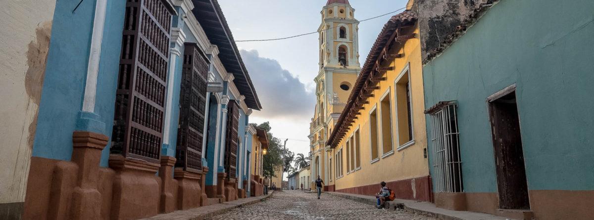 Gassen von Trinidad in Kuba