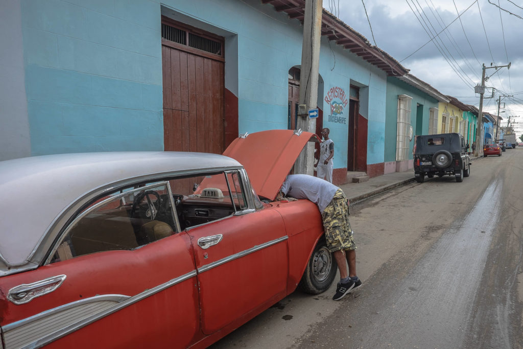 Cars in Trinidad Cuba
