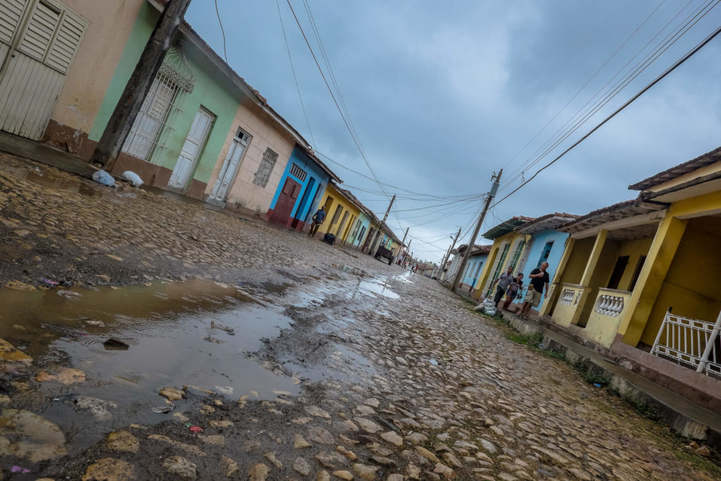 Rainy day in Trinidad Cuba