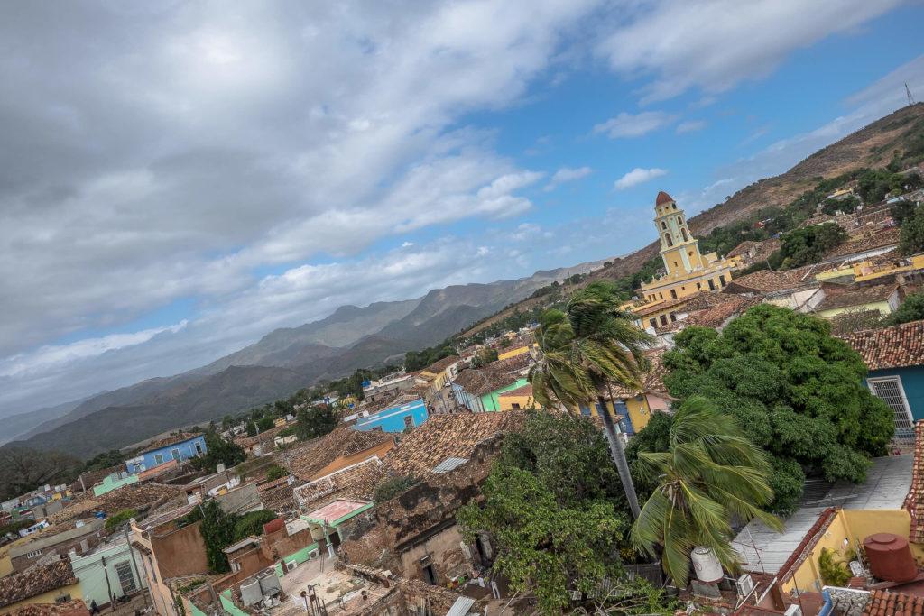 Rooftop in Trinidad Cuba