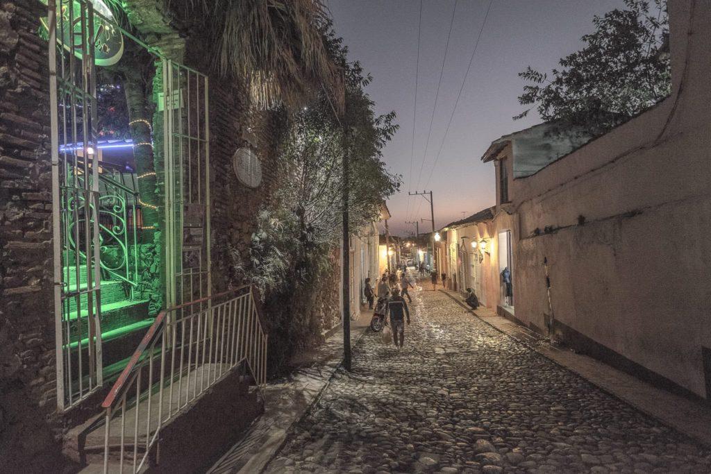 Street of Trinidad in Cuba