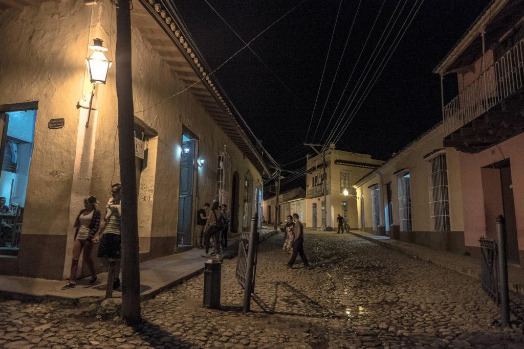 Trinidad Streets by night