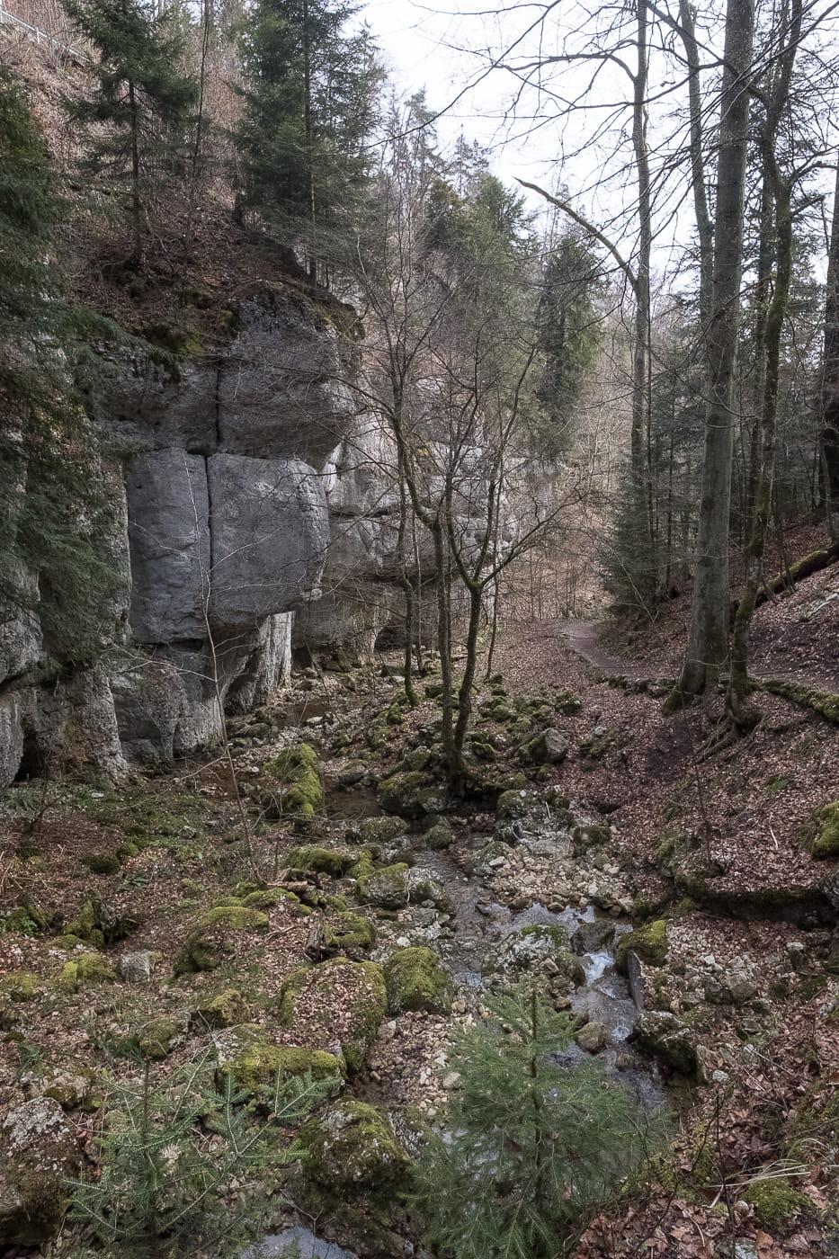 Tüfelsschlucht Cholersbach in Hägendorf