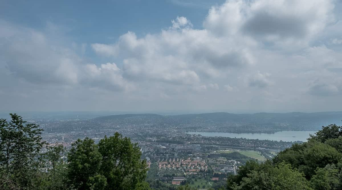 Uetliberg Aussicht über Zürich