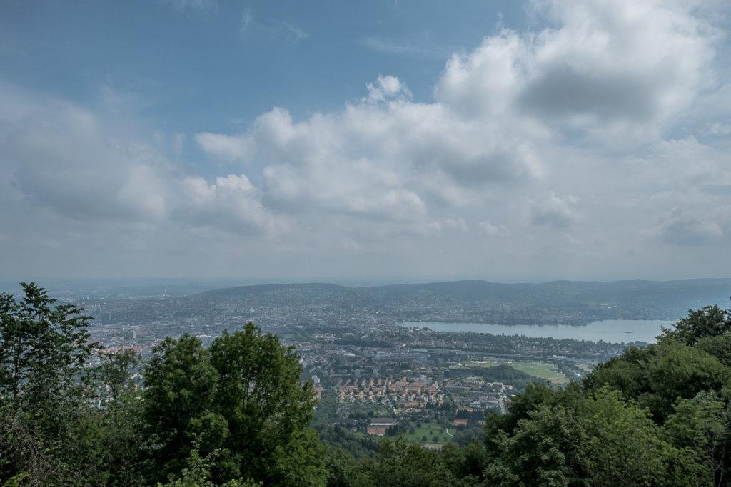 Üetliberg Aussicht über Zürich