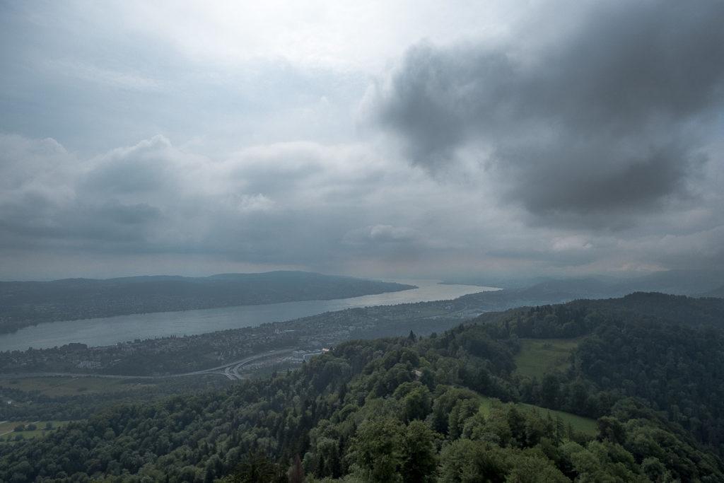 Üetliberg Aussicht auf Zürichsee