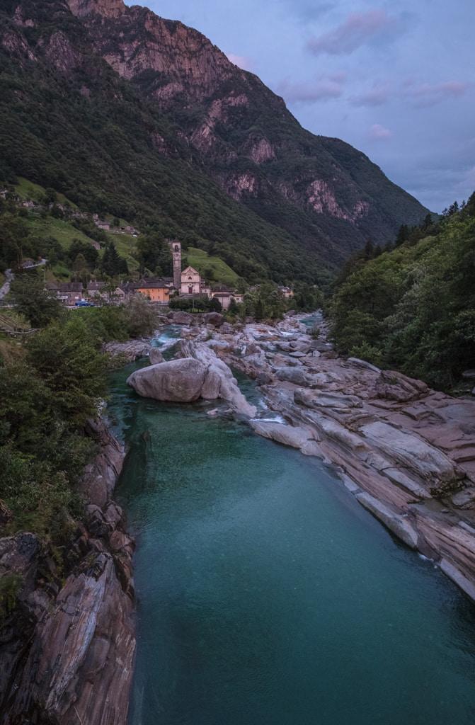 Verzascatal im Tessin als Fotospot Schweiz