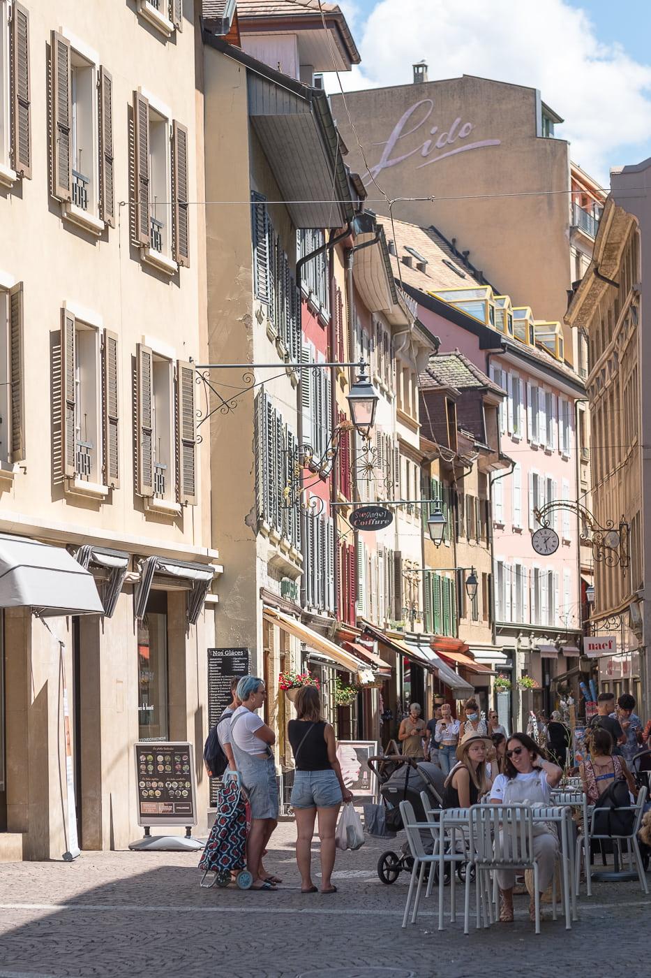 Vevey Altstadt