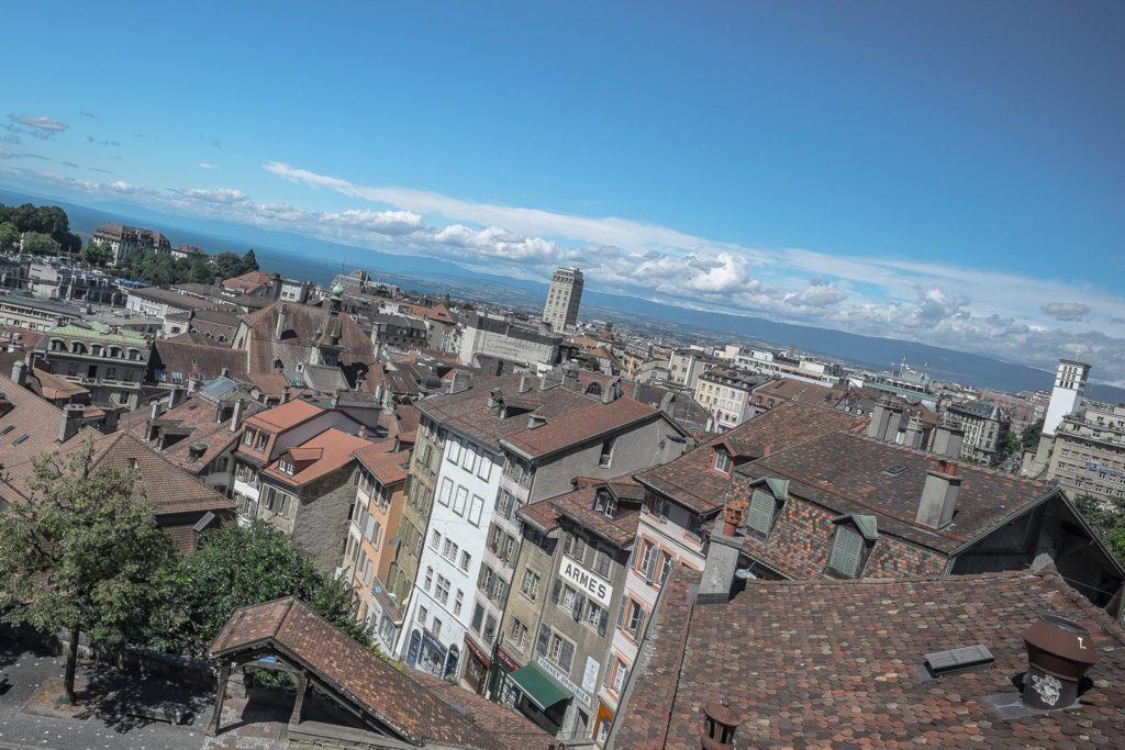 Aussicht vom Münster Lausanne