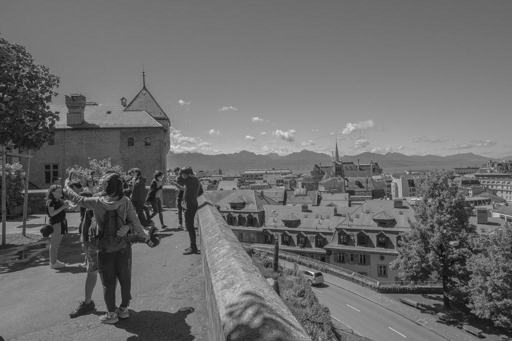 Esplanade de la Cathédrale Lausanne