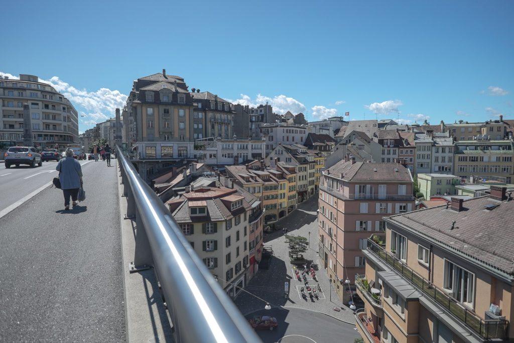 Passerelle du Flon Lausanne