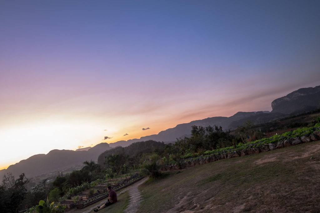 Sunset Vinales