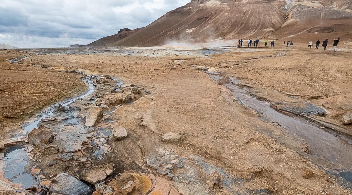 vulkan landschaft island