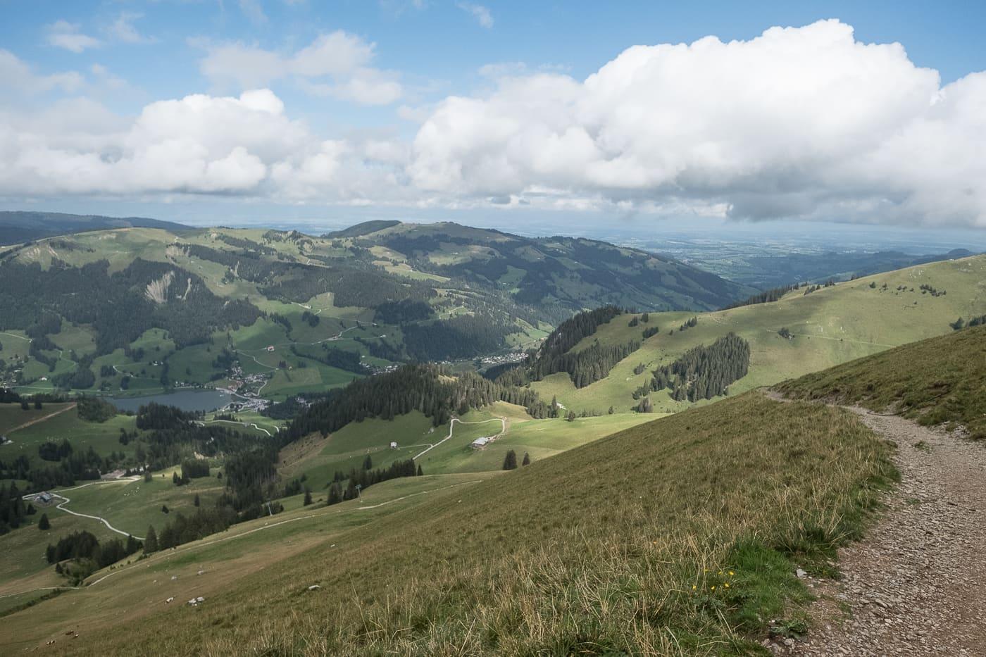 Wanderung Schwarzsee Kaiseregg