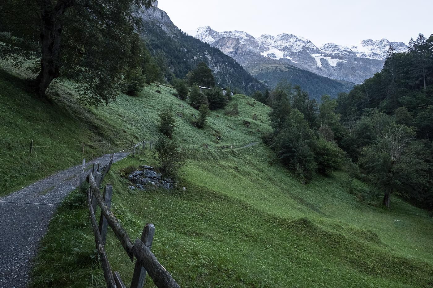Wanderung Stechelberg Trachsellauenen