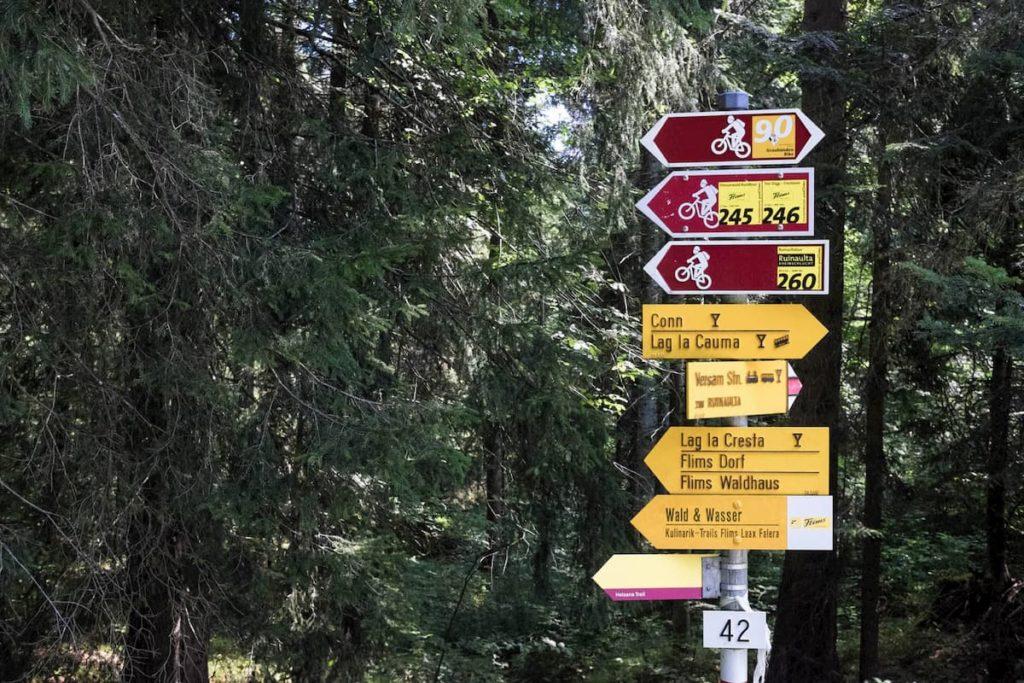 wanderwege flimserwald