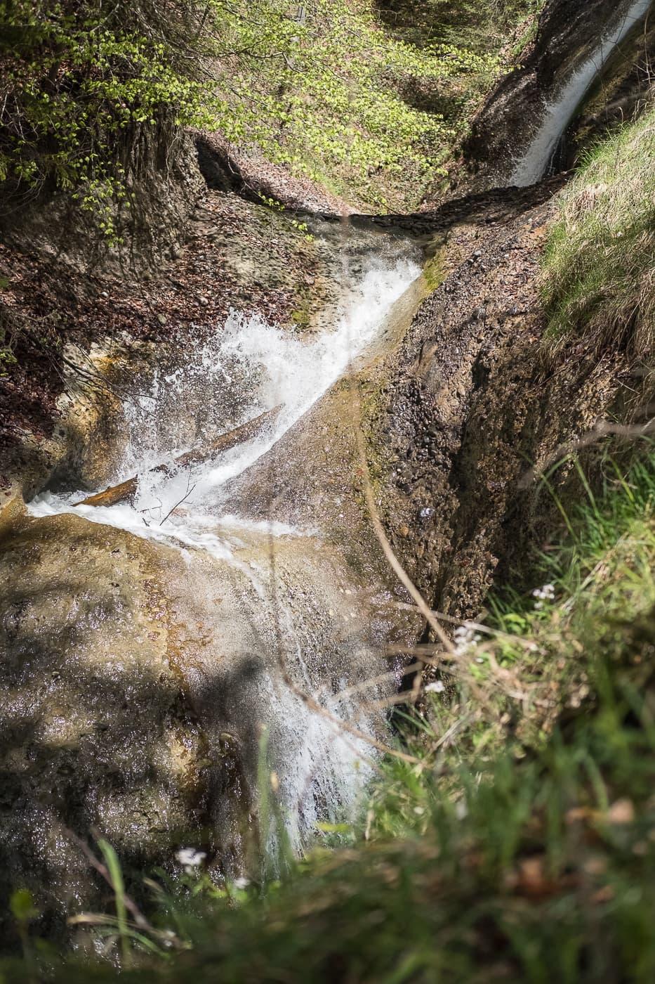 Wasserfälle in der Cholerenschlucht