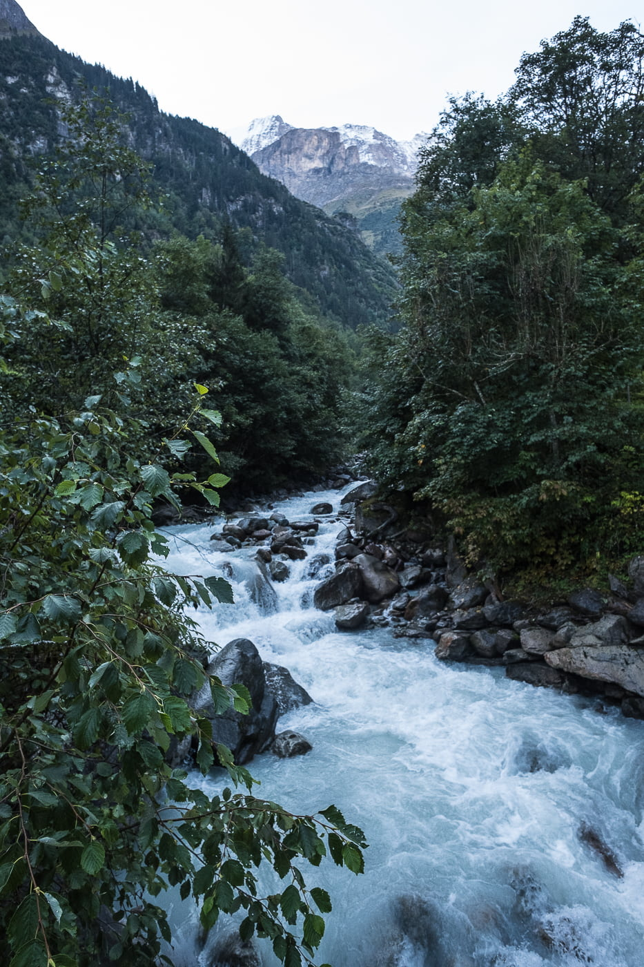 Weisse Lütschinen Berner Oberland