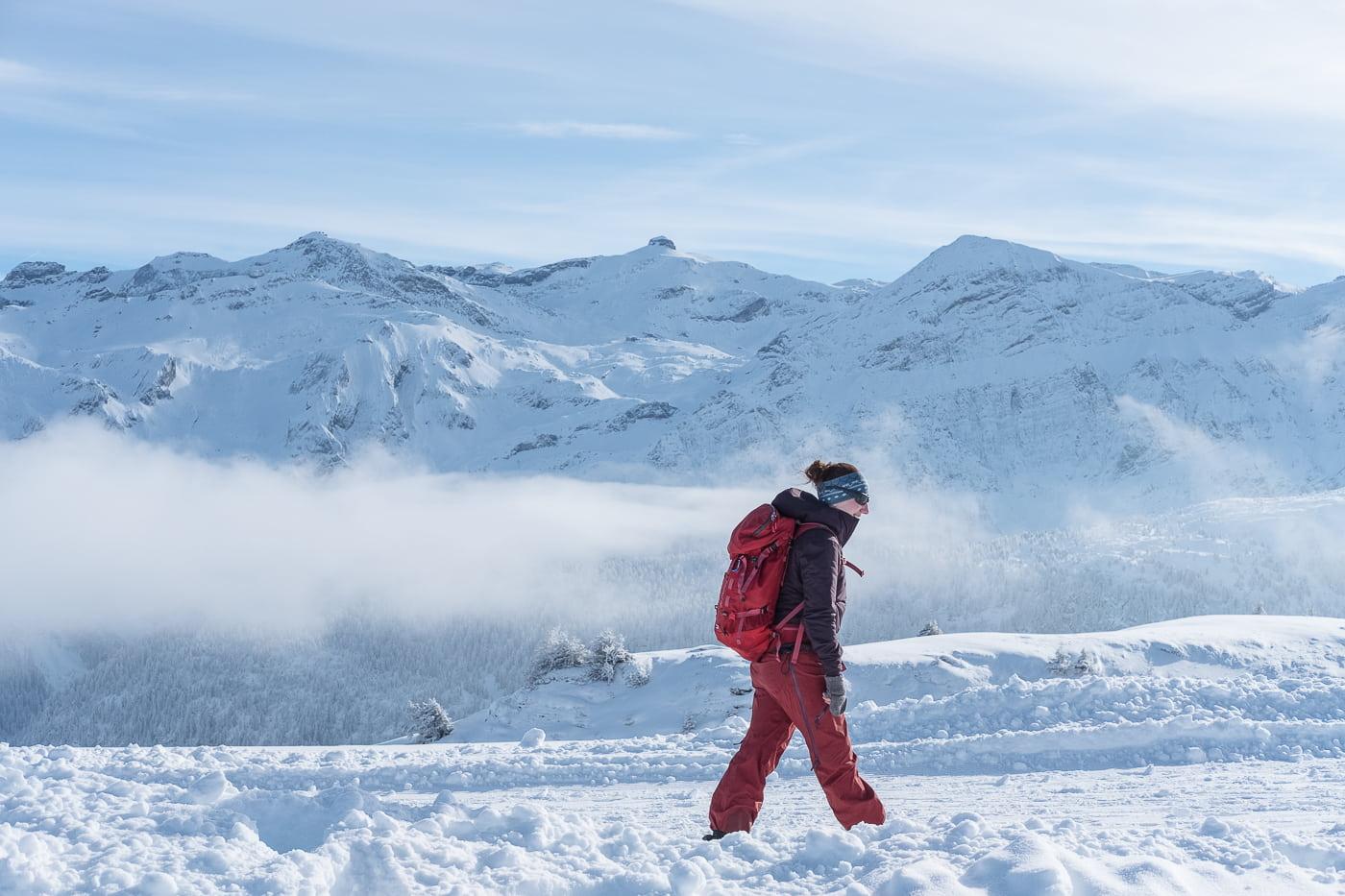 Winter wandern Berner Oberland