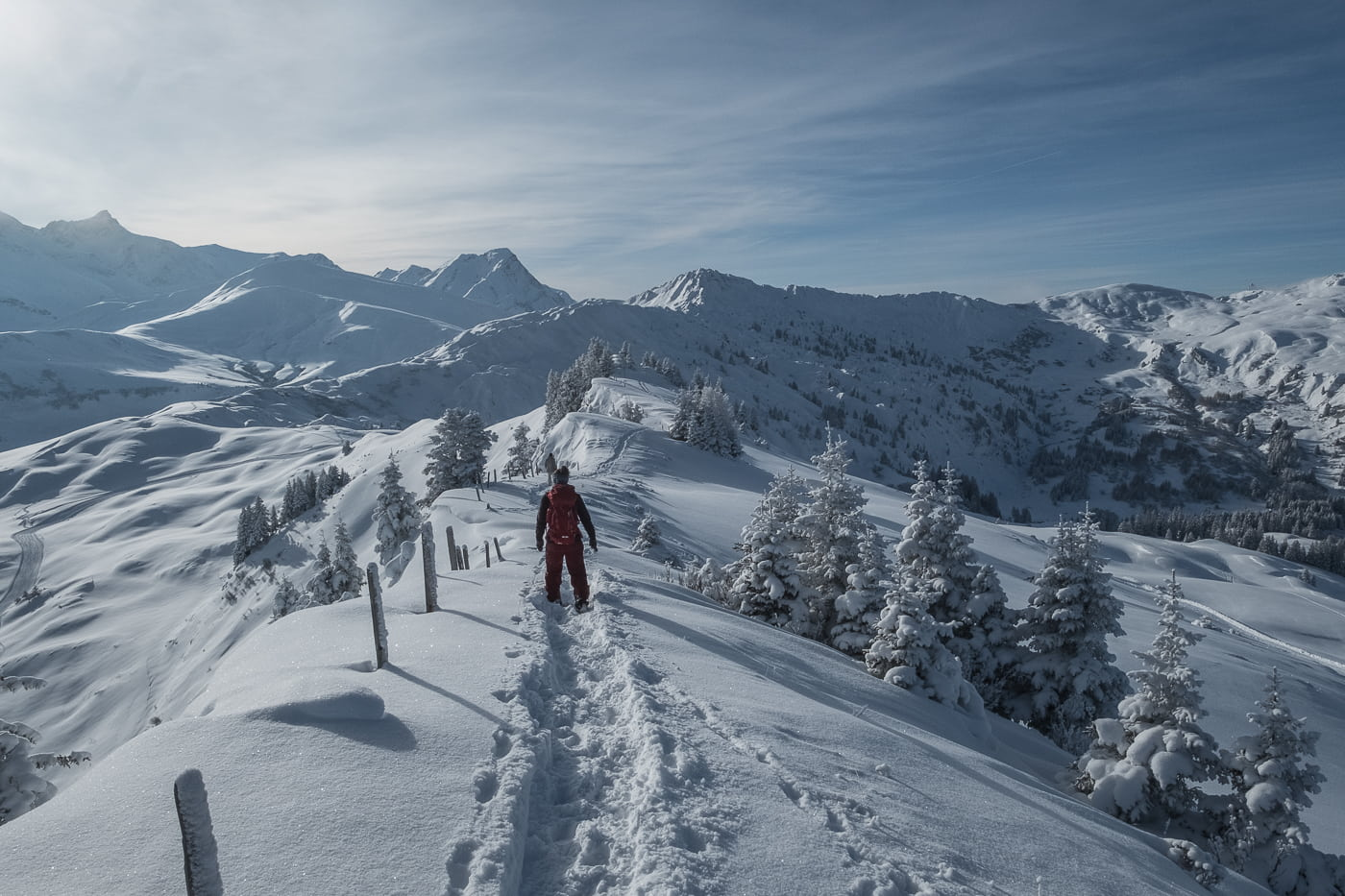 Winterwanderweg Lenk Leiterli