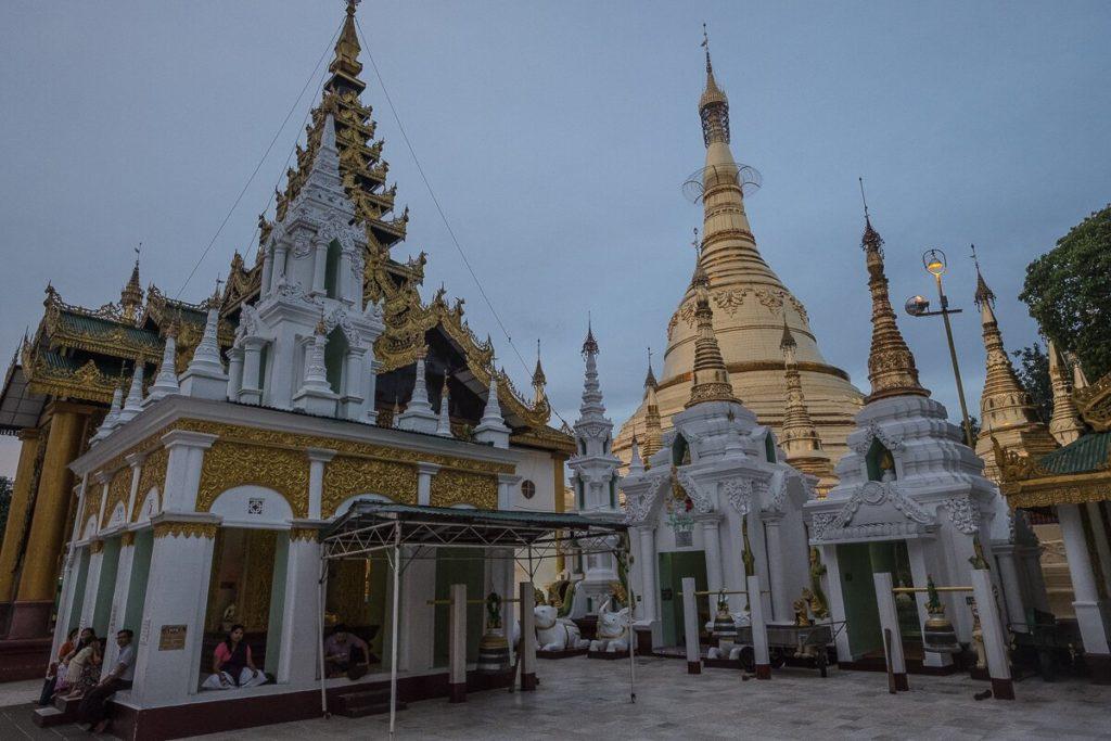 yangon shwedagon pagode