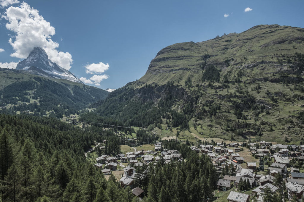Hoch über Zermatt