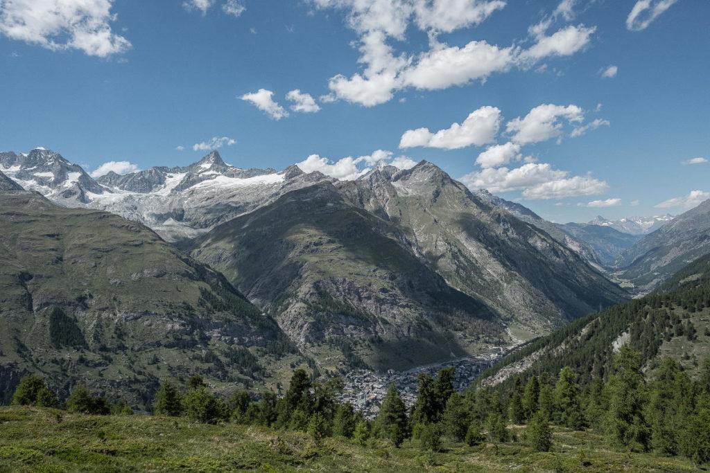 Zermatt Bergpanorama