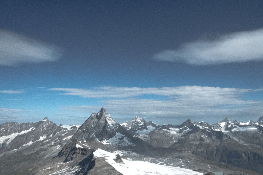 Matterhorn von hinten