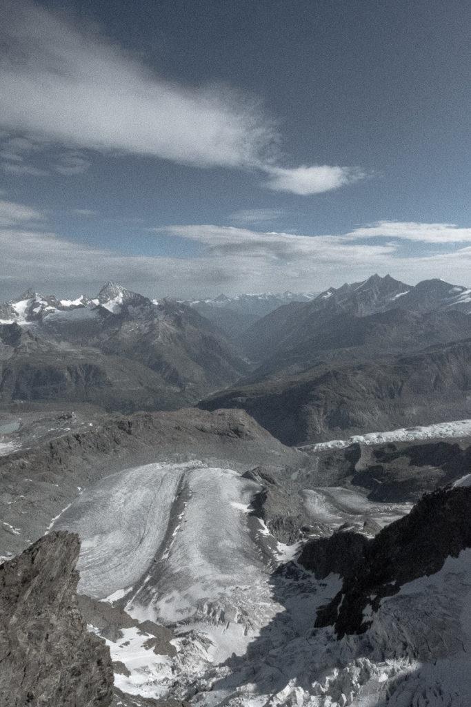 Gletscher Kleines Matterhorn